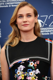 Diane Kruger wore her hair in loose waves at the Venice Film Festival jury photocall.