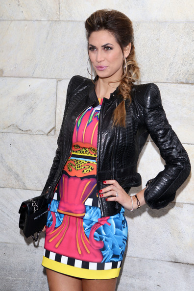 More Pics of Melissa Satta Leather Jacket (1 of 3) - Leather Jacket Lookbook - StyleBistro