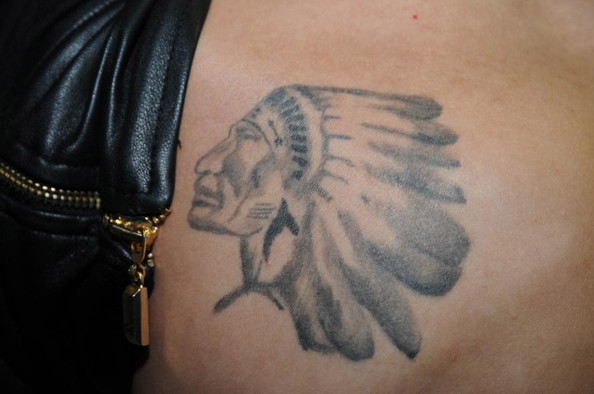 Justin Bieber Portrait Tattoo [tattoos,miami beach police documentation,handout photo,tattoo,shoulder,wing,arm,joint,temporary tattoo,feather,muscle,neck,hand,tattoos,justin bieber,police documentation,custody,influence,miami beach police department,arrest]