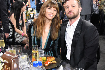 Justin Timberlake Jessica Biel 22nd Annual Critic's Choice Awards