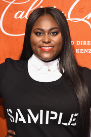 Danielle Brooks sported long straight tresses at the premiere of 'Cabiria, Charity, Chastity.'