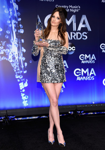 Kacey Musgraves Evening Pumps [song of the year,clothing,dress,performance,fashion model,premiere,fashion,cocktail dress,electric blue,event,carpet,kacey musgraves,award,room,press room,nashville,tennessee,bridgestone arena,cma awards]