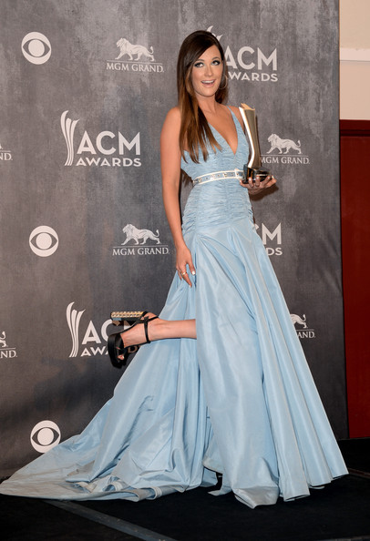 Kacey Musgraves Platform Sandals [album of the year,dress,clothing,gown,shoulder,fashion,fashion model,beauty,carpet,hairstyle,formal wear,kacey musgraves,award,room,press room,mgm grand garden arena,nevada,las vegas,academy of country music awards]