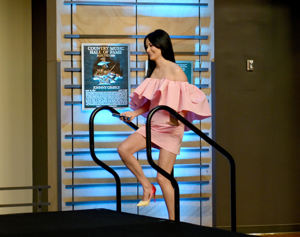 Kacey Musgraves Pumps [black hair,leg,human leg,long hair,thigh,kacey musgraves,all,colors,nashville,tennessee,country music hall of fame and museum,opening,exhibition]