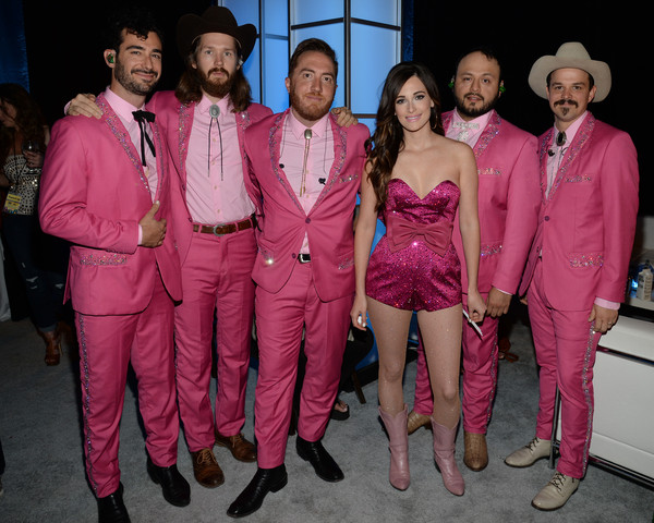 Kacey Musgraves Romper [entertainment industry foundation,abc,coverage,think it up,it up,entertainment industry,support,roadblock,special,pink,social group,fashion,event,magenta,suit,performance,fashion design,formal wear,team,telecast fundraising event]