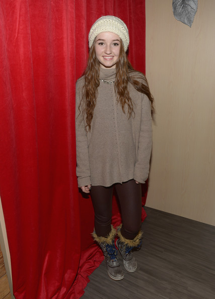 Kaitlyn Dever Turtleneck [clothing,red,outerwear,fashion,blond,footwear,tights,headgear,long hair,costume,stella artois,kaitlyn dever,the village at the lift,park city,utah]