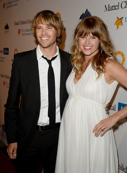 More Pics of Sarah Wright Strappy Sandals (1 of 15) - Heels Lookbook - StyleBistro [the future,suit,hairstyle,formal wear,event,dress,premiere,tuxedo,long hair,cocktail dress,style,eric christian olsen,sarah wright,kaleidoscope ball benefitting the ucla childrens discovery and innovation institute at mattel childrens hospital,beverly hills hotel,mattel childrens hospital ucla,california,ucla,l,the kaleidoscope ball]
