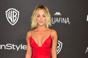 Kaley Cuoco Evening Dress