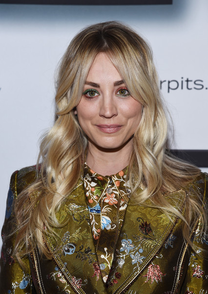 Kaley Cuoco Jewel Tone Eyeshadow [kaley cuoco hosts 9th annual stand up for pits,kaley cuoco,hair,blond,hairstyle,layered hair,long hair,fashion,hair coloring,brown hair,feathered hair,fashion show,event,9th annual stand up for pits,california,los angeles,the mayan]