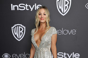 Kaley Cuoco Sequin Dress