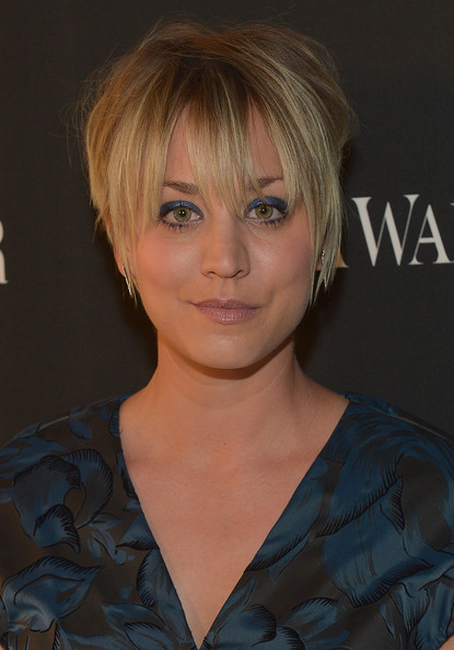 Kaley Cuoco Layered Razor Cut