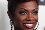 Kandi Burruss  Spiked Hair
