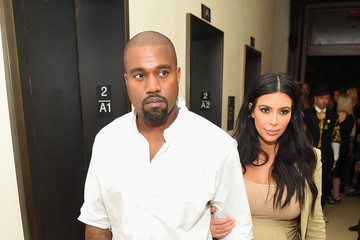 Kanye West Kim Kardashian Celebrities Attend the Rihanna Party at The New York EDITION