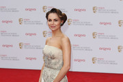 Kara Tointon Strapless Dress