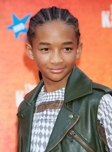 Jaden Smith looked oh-so-cool at the 'Karate Kid' premiere with his corn rows.