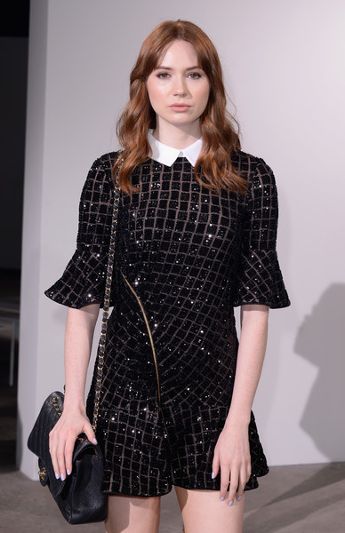 Karen Gillan Quilted Leather Bag