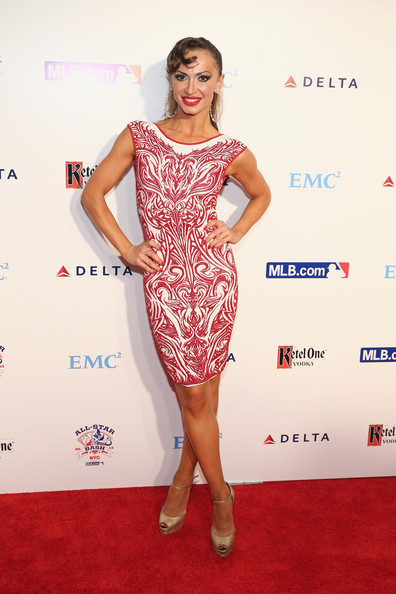 Karina Smirnoff Print Dress