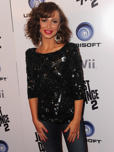 Karina Smirnoff Fitted Blouse