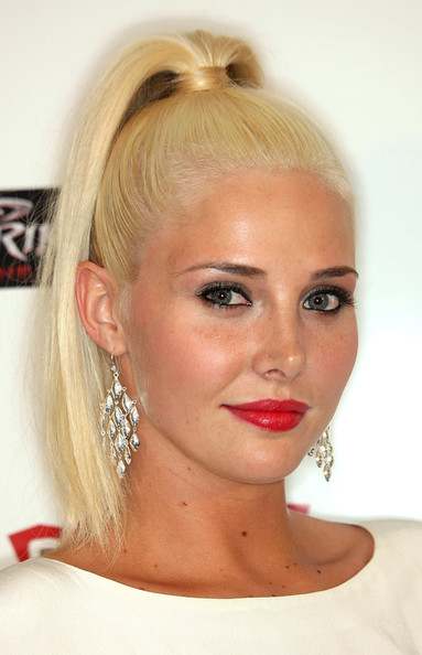 Karissa Shannon Red Lipstick [ubisoft celebrates the video game launch of prince of persia,prince of persia: the forgotten sands,hair,face,eyebrow,hairstyle,lip,blond,chin,forehead,head,beauty,arrivals,karissa shannon,california,los angeles,mondrian hotel,skybar,ubisoft,video launch]