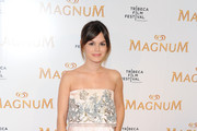 Actress Rachel Bilson attends the debut of Karl Lagerfeld & Rachel Bilson's original film series inspired by Magnum Ice Cream during the 2011 Tribeca Film Festival at the IAC Building on April 21, 2011 in New York City.