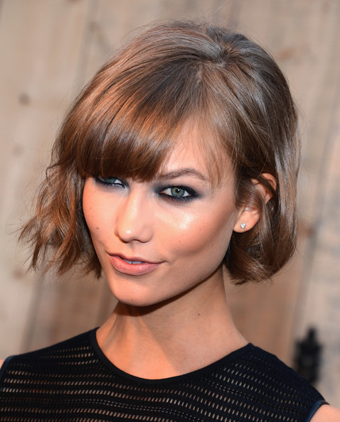 Karlie Kloss Smoky Eyes