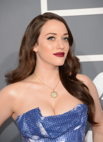 Kat Dennings Long Wavy Cut