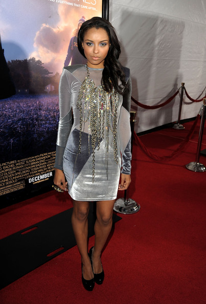 Kat Graham Diamond Statement Necklace