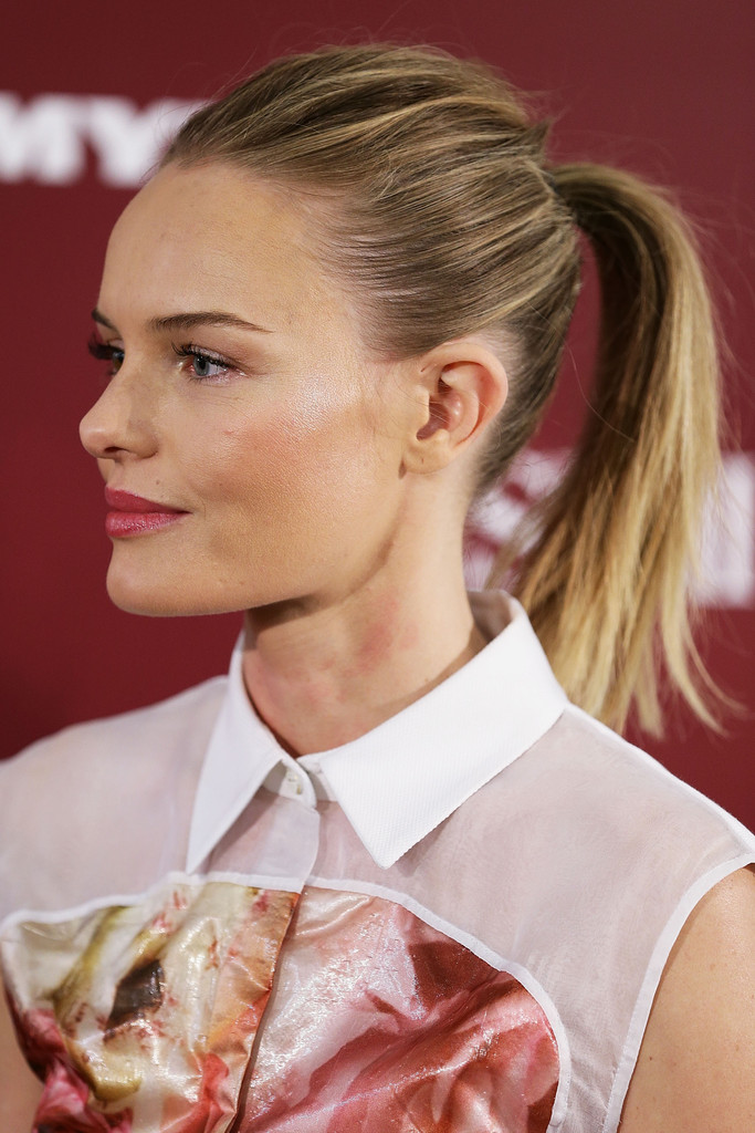 Kate Bosworth speaks during an SKII promotional event at Myer Sydney City on October 12, 2012 in Sydney, Australia.