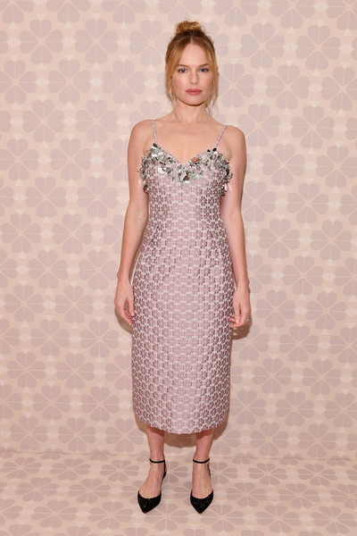 Kate Bosworth Cocktail Dress [dress,day dress,fashion model,cocktail dress,fashion,girl,photo shoot,flooring,gown,model,kate bosworth,new york public library,new york city,kate spade new york,new york fashion week,kate spade new york fashion show]