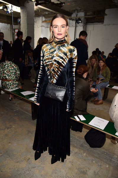 Kate Bosworth Chain Strap Bag [fashion,clothing,fashion design,fashion model,fashion show,haute couture,event,fur,kate bosworth,front row,wall street,new york city,proenza schouler,new york fashion week]