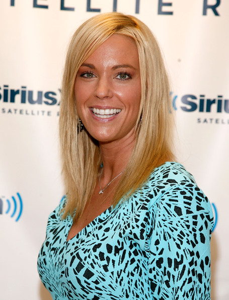 Kate Gosselin was ultra tan and blond during a visit to The Phone Show at SiriusXM.