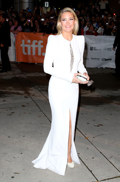 Kate Hudson Evening Dress [the reluctant fundamentalist,clothing,white,suit,fashion,red carpet,premiere,formal wear,event,dress,street fashion,kate hudson,roy thomson hall,toronto,canada,red carpet,2012 toronto international film festival,premiere]