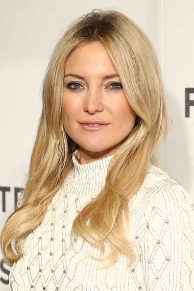 Kate Hudson Long Center Part [reluctant fundamentalist,hair,face,blond,hairstyle,eyebrow,layered hair,long hair,lip,hair coloring,chin,kate hudson,us,new york city,tribeca film festival,us premiere]