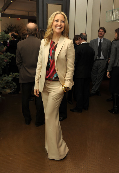Kate Hudson Pantsuit [suit,clothing,blazer,fashion,formal wear,pantsuit,outerwear,event,tuxedo,jacket,kate hudson,luncheon,per se,new york new york,the weinstein company,nine luncheon]