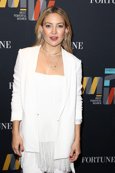 Kate Hudson Fringed Top
