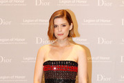 Kate Mara Satin Clutch
