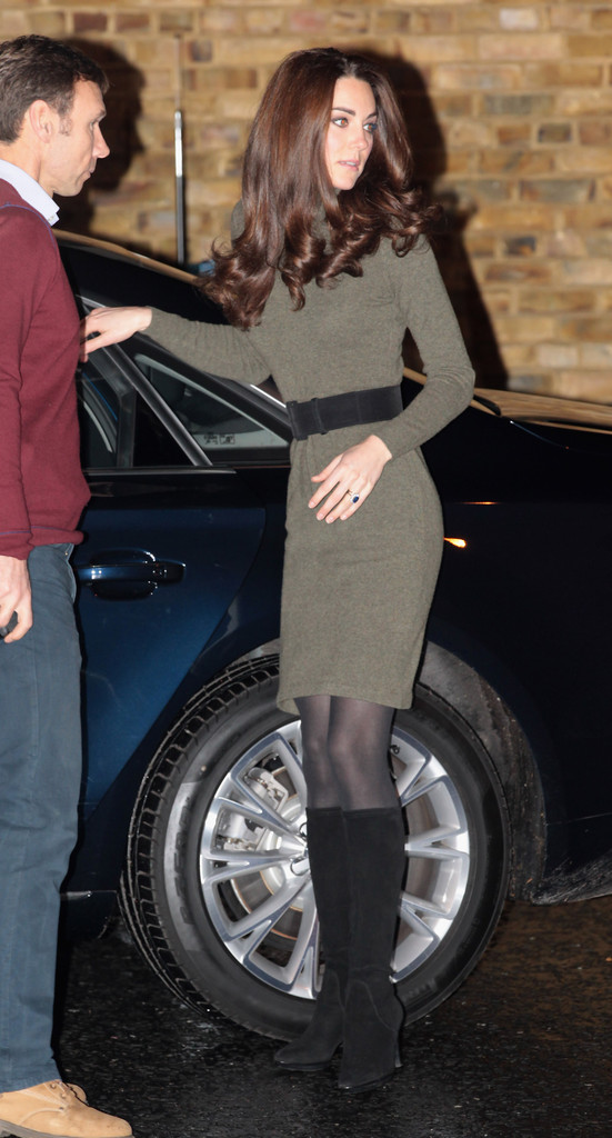 Kate Middleton Knee High Boots Kate Middleton Looks