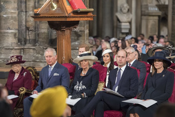 Kate Middleton Camilla Parker Bowles Commonwealth Day Service And Reception