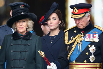 Kate Middleton Camilla Parker Bowles A Service of Commemoration for Troops in Afghanistan — Part 2