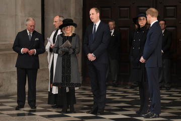 Kate Middleton Camilla Parker Bowles Grenfell Tower National Memorial Service