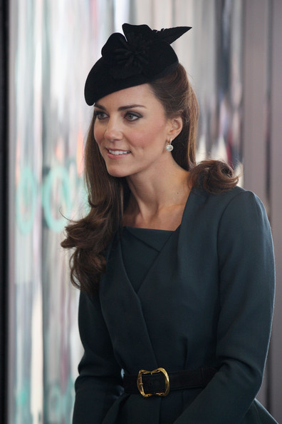 Kate Middleton Hairstyle and Haircut In Olympics