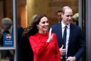 Kate Middleton Long-Sleeved Shift Dress