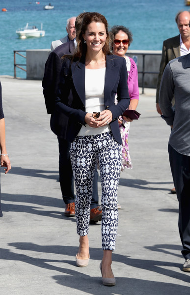 Kate Middleton Print Pants