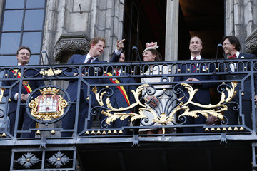 Kate Middleton Prince Harry British Royals at Grand Place