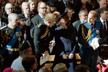 Kate Middleton Prince Harry A Service of Commemoration for Troops in Afghanistan — Part 2