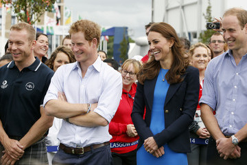 Kate Middleton Prince Harry Arrivals at the 20th Commonwealth Games
