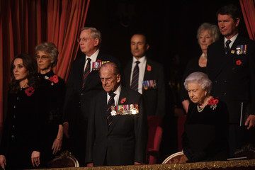Kate Middleton Prince Philip Festival of Remembrance