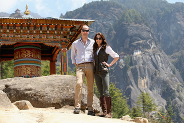 Kate Middleton Prince William The Duke and Duchess of Cambridge Visit India and Bhutan - Day 6