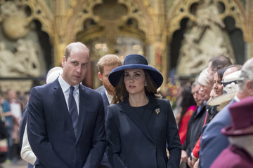 Kate Middleton Prince William Commonwealth Day Service And Reception