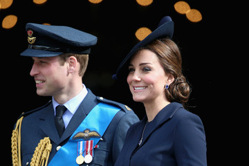 Kate Middleton Prince William A Service of Commemoration for Troops in Afghanistan — Part 2